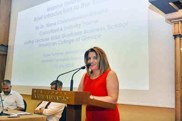 Η Δρ. Ηλιάνα Χριστοδούλου-Βαρότση, Visiting Lecturer του ALBA Graduate Business School