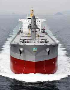 Hybrid bulk carrier Paolo topic.