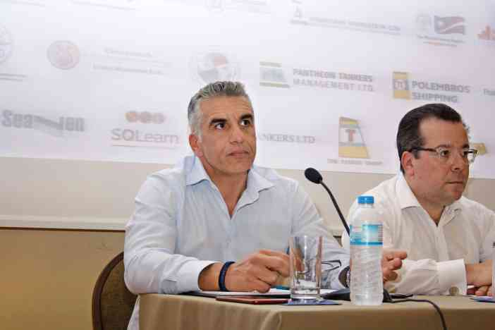 Ο καπτ. Γιώργος Παντελίδης, Marine Manager της Blue Planet Shipping Ltd.