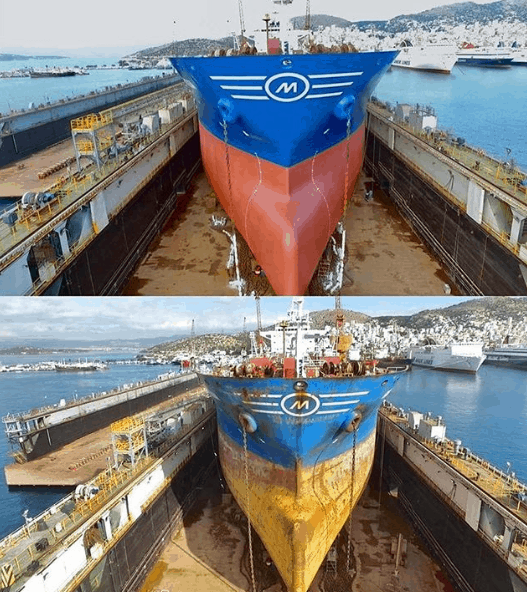Before and after. Credits to Stelios Anagnostopoulos