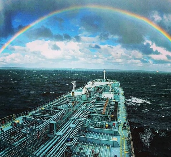 1. After the storm always comes the rainbow. Credits to Ernesto Mandellos