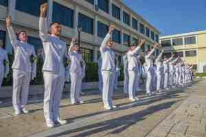 Τελετή Ορκωμοσίας Νέων Σημαιοφόρων Πολεμικού Ναυτικού