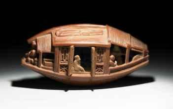 Ένα πλοίο κατασκευασμένο από πυρήνα ελιάς