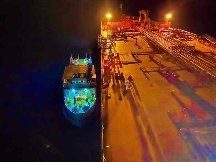2. Crew Boarding at Limnos. Credits to Stelios Zygouris