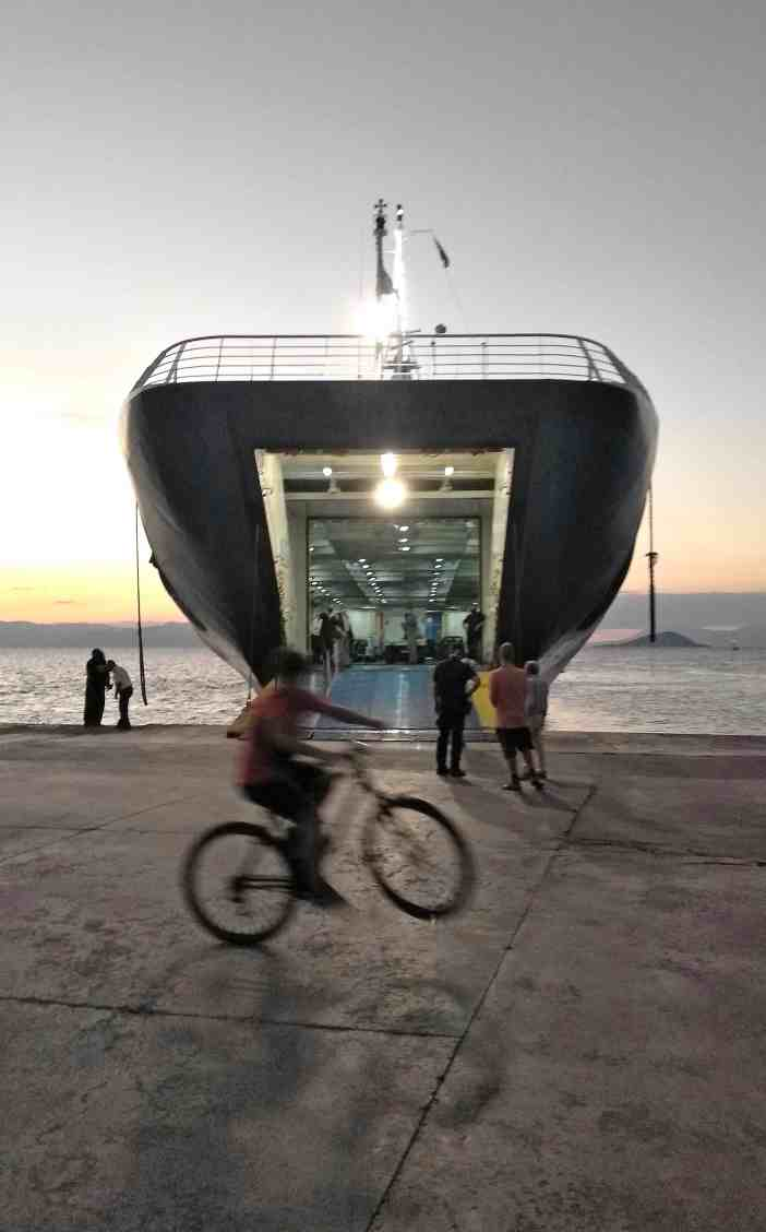 3. Cycling in port. Credits to Fivos Stampoliadis