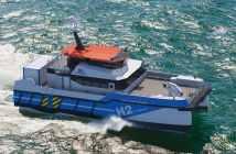 «Πράσινη» τεχνολογική καινοτομία για πλοίο μεταφοράς προσωπικού