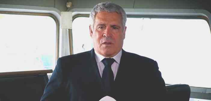 Καπετάνιος της Χρόνιας: Ο καπτ. Απόστολος Αποστολάκης της ΑΝΕΚ Lines