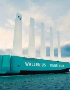 Wallenius Wilhelmsen: Ένα νέο RoRo που θα κινείται με αιολική ενέργεια