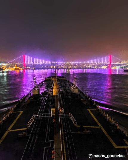 Bosphorus Bridge. Credits to Nasos Gounelas