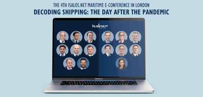 Isalos.net Maritime e-Conference: Η επόμενη μέρα για τη ναυτιλία