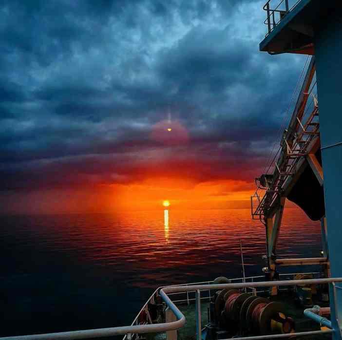 5. Ocean on fire Credits to Nikolas Rafail