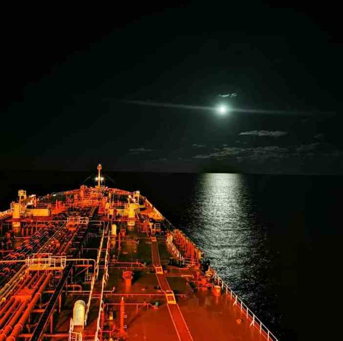 1. Night shift with a bright moon Credits to Dimitris Gkrizis