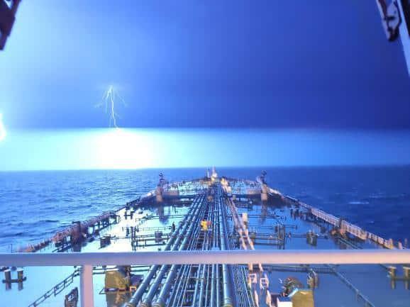 1. Thunder and lightning Credits to Loukas Kremmidas