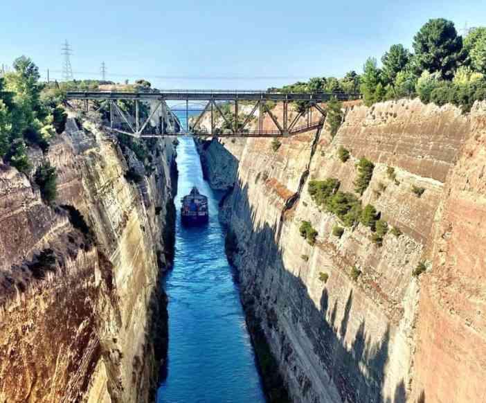 5. Corinth Canal  Credits to Iris photos
