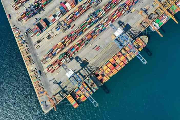 2. Piraeus container terminal Credits to Vasilis Demertzis