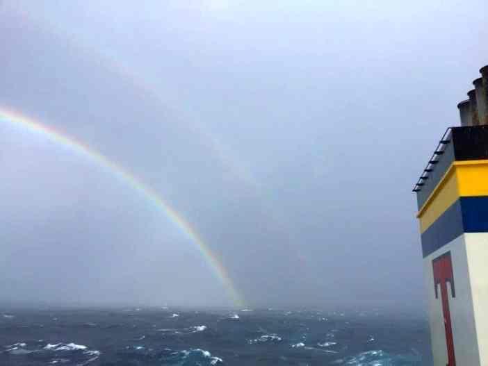 4. Double rainbow Credits to Dimitris Grivas