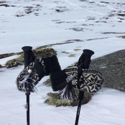 Karen og Karen Draai på skitur!