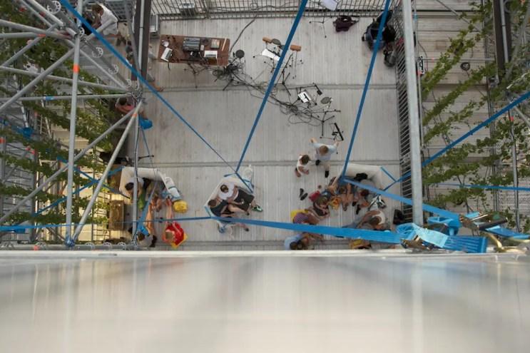 Schaustelle Pinakothek der Moderne 2013 - ISARBLOG