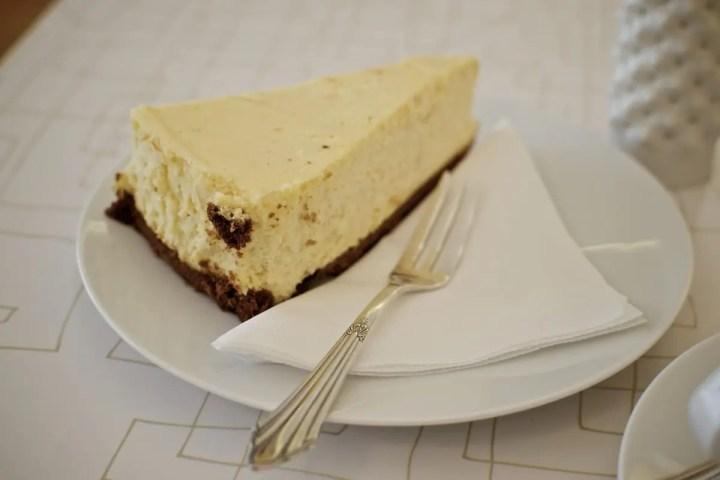 NY Cheesecake im Stereo Cafe | Foto: ISARBLOG Gerhard Bauer