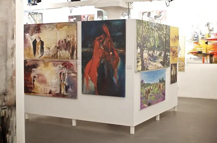 Bildbeschreibung | Art Works - Junge Israelische Kunst auf der Praterinsel