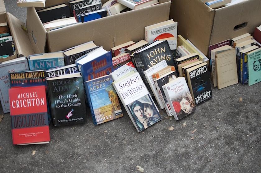 Lisar Bücherflohmarkt an der Isar