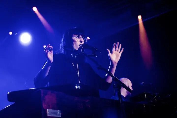 Feine Popmusik mit deutschen Texten: Mine beim Puls Festival 2014 | Foto: Monika Schreiner ISARBLOG
