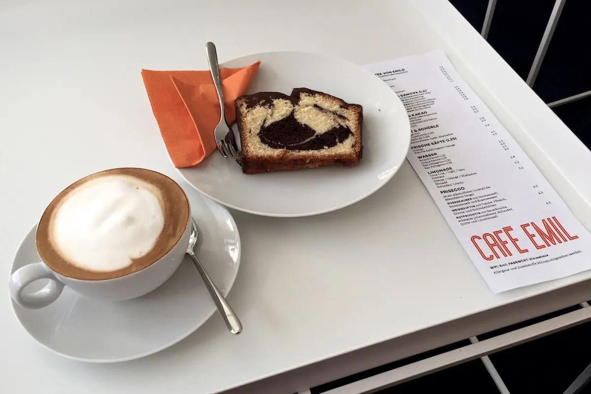 Cafe Emil Speisekarte