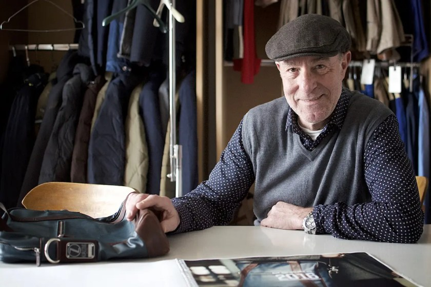 Werner Bischoff, einer der beiden Gründer von Kurzzug, in seinem Atelier | Foto: Monika Schreiner