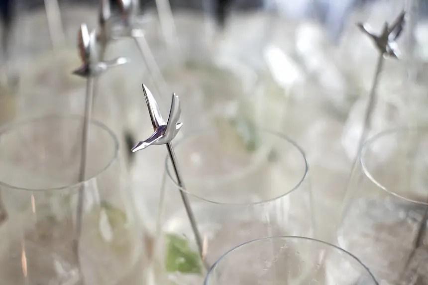 Eröffnung der Grey Goose Brasserie Bleue bei Feinkost Käfer