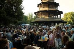 Kocherlball Chinesischer Turm Englischer Garten - ISARBLOG