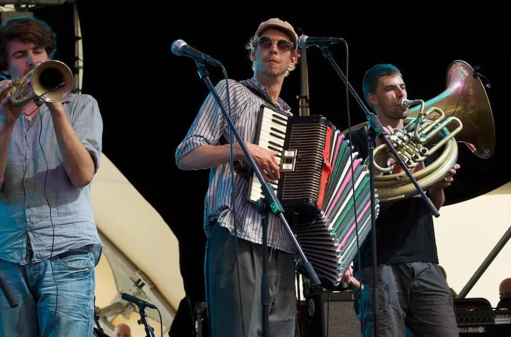 Kofelgschroa live beim Theatron Festival   Foto: Monika Schreiner