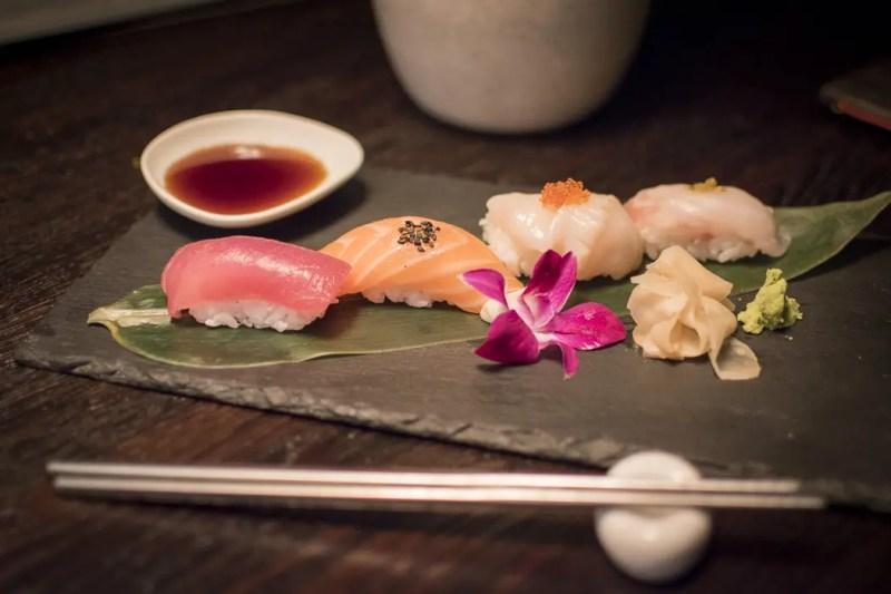 Taste Twelve - Sushi Nigiri im Restaurant Mun München Haidhausen