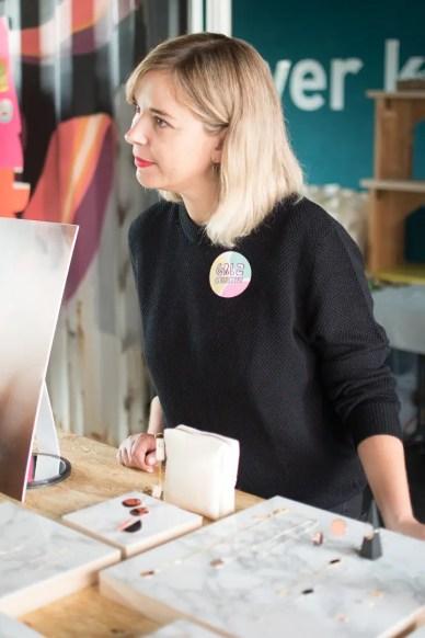 Die Designerin Claudia Lassner |Foto: Monika Schreiner