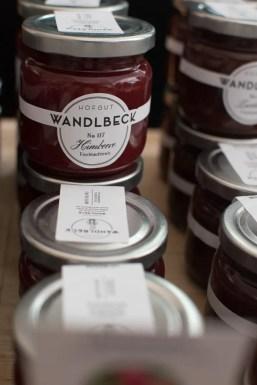 Grosse Auswahl an Marmeladen| Foto: Monika Schreiner