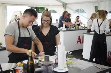 AEG Kochschule bei Taste of München - ISARBLOG