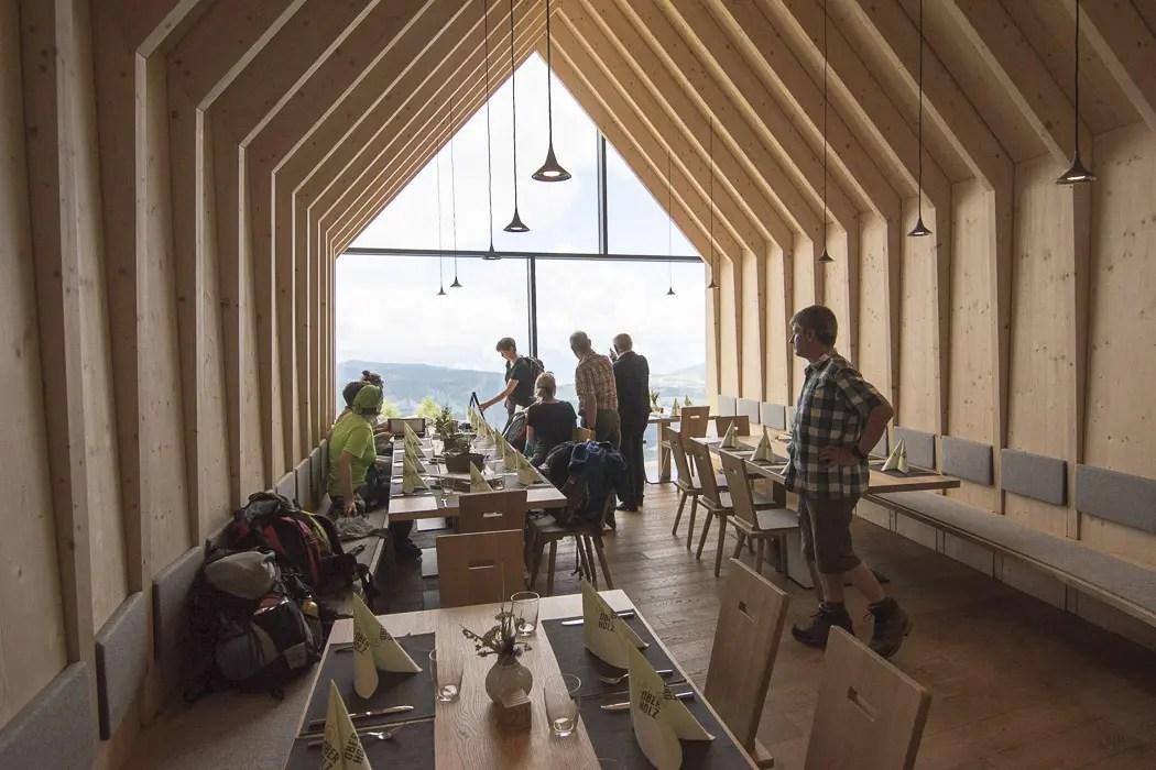 Oberholz Hütte Obereggen Eggental - ISARBLOG