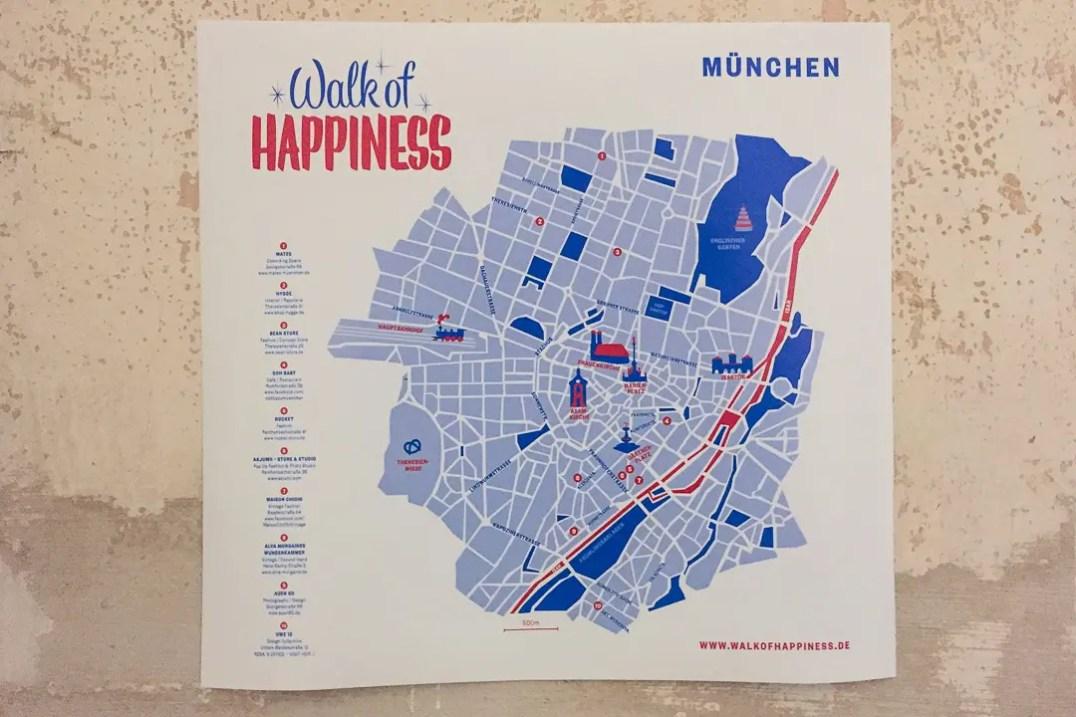 Walk of Happiness Plan   Foto: Monika Schreiner