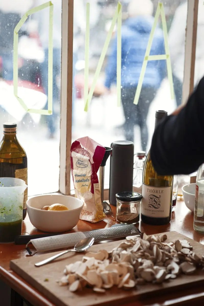 Einkaufen und Kochen auf dem Viktualienmarkt mit ISARBLOG - Foto: Gabriela Neeb