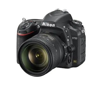 Nikon D750 mit Objektiv