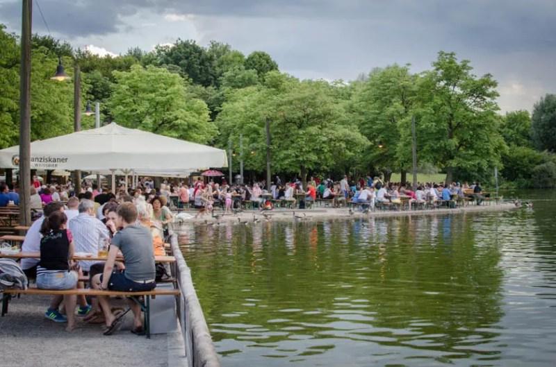 Michaeligarten Ostpark Biergarten München - ISARBLOG