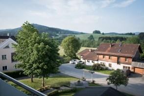 Blick vom Balkon des Hotel Falter | Monika Schreiner | ISARBLOG