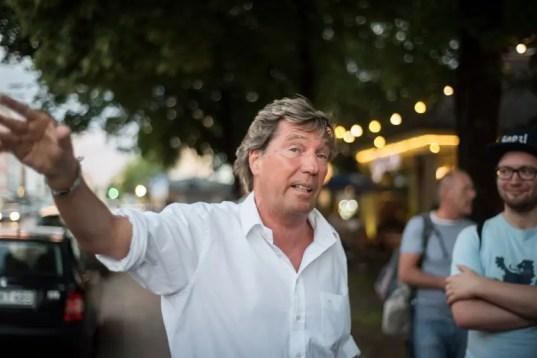 In Schwabing dahoam: Stefan Schneider   Foto: Monika Schreiner