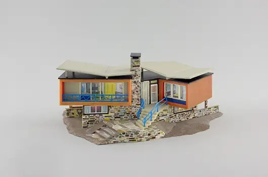Faller-Modell Villa im Tessin | © Hagen Stier
