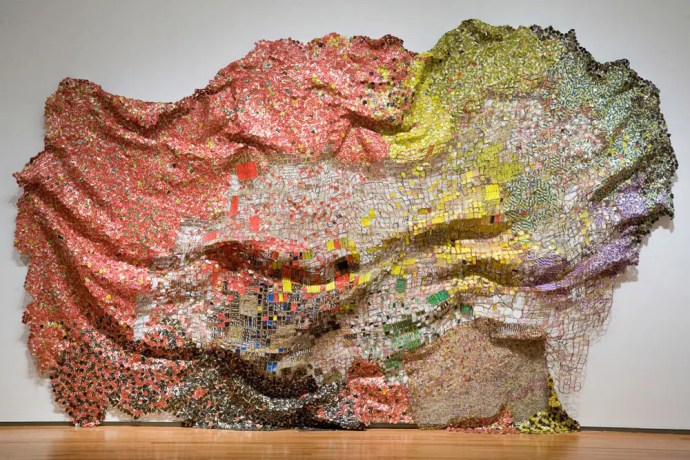 Stressed World El Anatsui Triumphant Scale