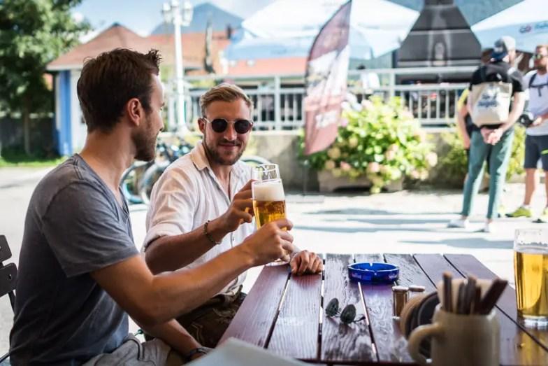 Bierfahrerbeifahrer Spezltour mit Dicht & Ergreifend | Foto: ISARBLOG