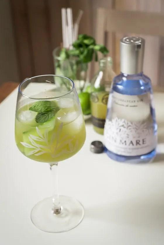 Gin Mare Cocktails: Der Matcha Mule