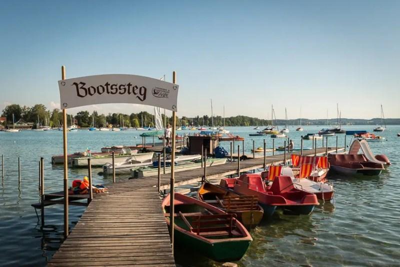 Bootsverleih Strandbad Raabe Wörthsee
