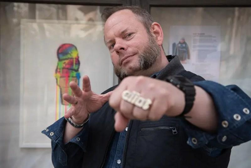 Einer der ArtSchnitzel 2021 Künstler: Eliot the Super