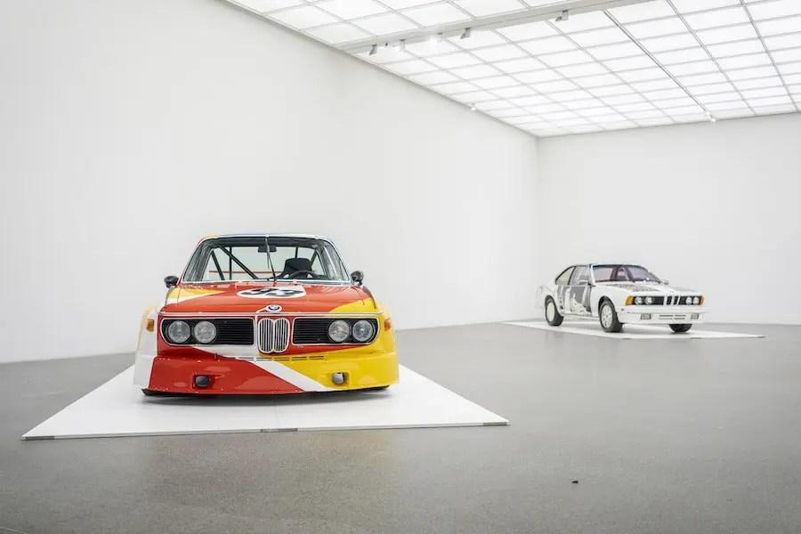 BMW Art Cars in der Pinakothek der Moderne