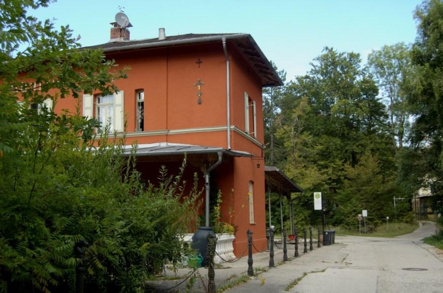 Der stillgelegte  Bahnhof Mühltal